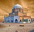 Front view of Bahauddin Zakariya Tomb by Balochlens.jpg
