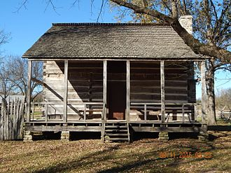 Randolph County, Arkansas - Image: Front view of the Upshaw House, Dalton, Arkansas