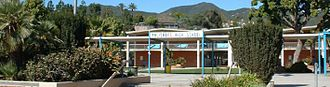 Topanga, California - Palisades Charter High School