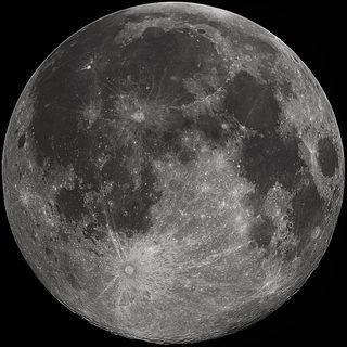 Mond (Aufnahme: (Aufnahme von der Erde))