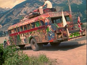 Further (bus) - Ken Kesey's original Further in 1964