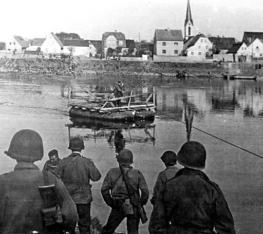 Patrouille bei Kreinitz