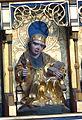 Güstrow Dom - Kreuzigungsaltar 4a Heilige untere Reihe Brandamus.jpg