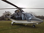 G-IWFC Agusta A109 Helicopter (25463536203).jpg