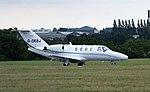 G-OEBJ Cessna 525 citation Coventry(4) (32651367030).jpg