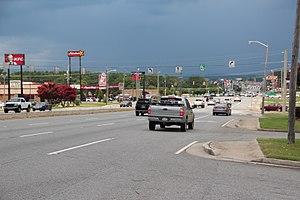 Georgia State Route 53 - Georgia State Route 53 in Calhoun