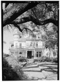 GENERAL VIEW OF SOUTH (FRONT) ELEVATION - Tacon-Gordon House, 1216 Government Street, Mobile, Mobile County, AL HABS ALA,49-MOBI.227-1.tif