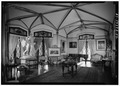 GENERAL VIEW OF SOUTH PARLOR, FROM EAST - Lyndhurst, Main House, 635 South Broadway, Tarrytown, Westchester County, NY HABS NY,60-TARY,1A-52.tif