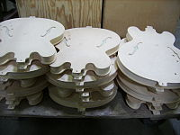GMFT3-2 piles of semi-hollow bodies, in work in process.jpg