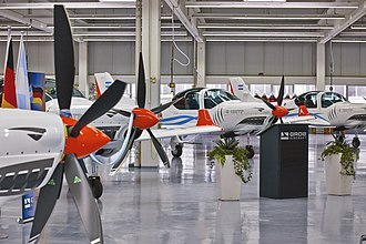 Grob G 120TP - Ceremonial handover of the first batch of four G 120TPs (10 ordered, plus 5 on option) to Argentina.