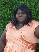 Gabourey Sidibe på Toronto International Film Festival 2009