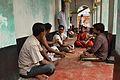 Gajan Committee Members with Media People - Hatanakhya Mahadev Mandir - Bainan - Howrah 2015-04-14 7972.JPG