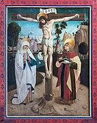 Gampern Kirche Flügelaltar Kreuzigung 01.jpg