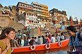 Ganges River, Varanasi (8717537440).jpg
