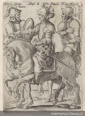 Alonso de Ribera - Alonso García Ramón, Alonso de Ribera y Luis Merlo de la Fuente, 1646.