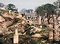 Garden of the Carthage Museum - Tunisia - 1899.jpg