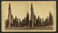 Garden of the Gods. Ruins of Montezuma's temple, by Thurlow, J., 1831-1878.png