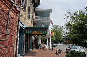 Chestertown, Maryland - Garfield Theater on High Street in Chestertown, Maryland