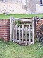 Gate and steps at St John's Church - geograph.org.uk - 350868.jpg