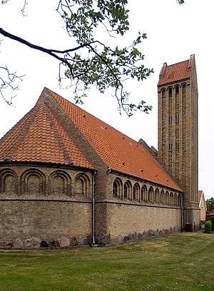 Peder Vilhelm Jensen-Klint - Image: Gedser Church
