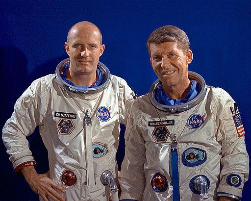 Gemini 6 prime crew