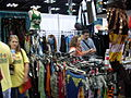Gen Con Indy 2007 - sci-fi fantasy clothing booth - 01.JPG