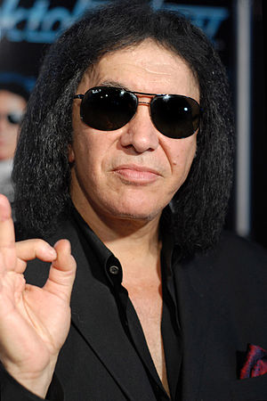 Gene Simmons - Simmons in Los Angeles, California, on October 15, 2012