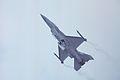 General Dynamics F-16C Fighting Falcon 87-0239 US Air Force, Farnborough UK, September 1988. (5589331373).jpg