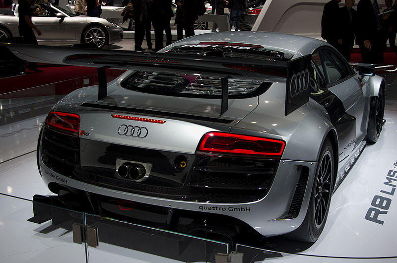 file geneva motorshow 2013 audi r8 lms ultra rear wikimedia commons. Black Bedroom Furniture Sets. Home Design Ideas