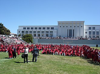 George Washington High School (San Francisco) - Senior graduation, 2006
