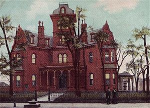 State of Georgia Governor's Mansion 1870–1923