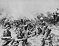 German soldiers relax after destroying a village in Epirus, Greece.jpg