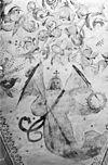 gewelfschildering 3d. noord-zwik kruisgewelf 1e en 2e periode - weert - 20251793 - rce