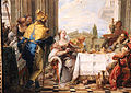 Giambattista tiepolo, il banchetto di cleopatra, 1742-43, 03.JPG