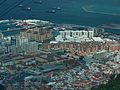 Gibraltar city and bay from the Rock of Gibraltar 3.jpg