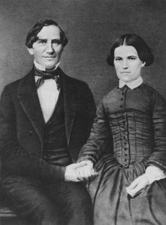 Gideon H. Pond House - Gideon H. and Agnes C. Johnson Hopkins Pond, c. 1854