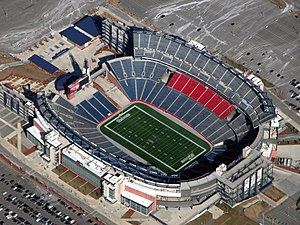 Gillette Stadium - Image: Gillette Stadium (Top View)