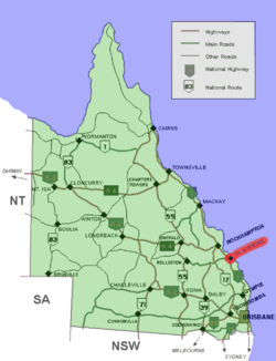Gladstone location map in Queensland.PNG