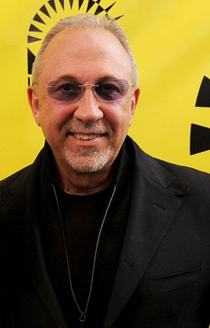 Emilio Estefan - Estefan at the 2014 Miami International Film Festival premiere of An Unbreakable Bond