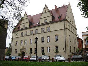 Courthouse in Września - Image: Gmach Sądu we Wrześni