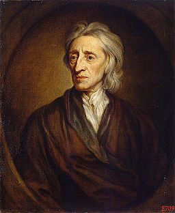 Godfrey Kneller - Portrait of John Locke (Hermitage)