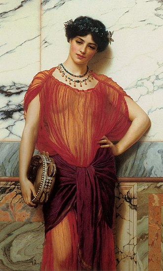 John William Godward - Drusilla, 1906