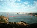 Golden Gate Bridge, from Marin County - panoramio.jpg