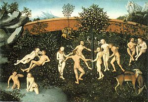 Works and Days - Lucas Cranach the Elder, The Golden Age