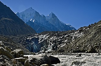Gangotri - Image: Gomukh the source of Ganga