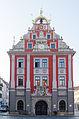 Gotha, Hauptmarkt, Rathaus, Westseite, 002.jpg