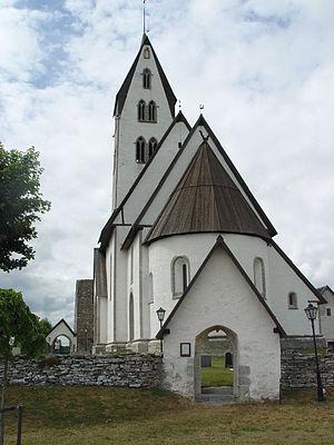 Gothem Church - Image: Gotland Gothem Kirche 02