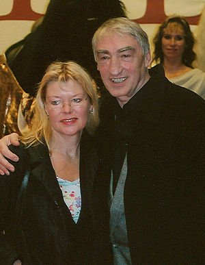 Gottfried John - Gottfried and Brigitte John in 2004