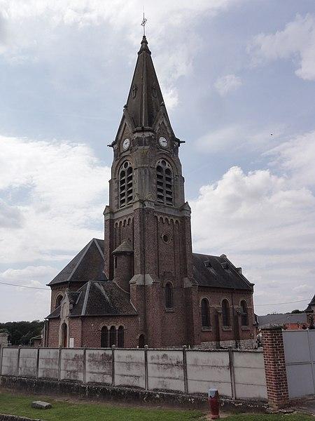 Gouy (Aisne) église