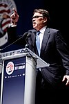 Governor of Texas Rick Perry at Citizens United Freedom Summit in Greenville South Carolina May 2015 by Michael Vadon 10.jpg